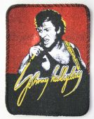 Johnny Hallyday - 'Johnny Singing' Printed Patch